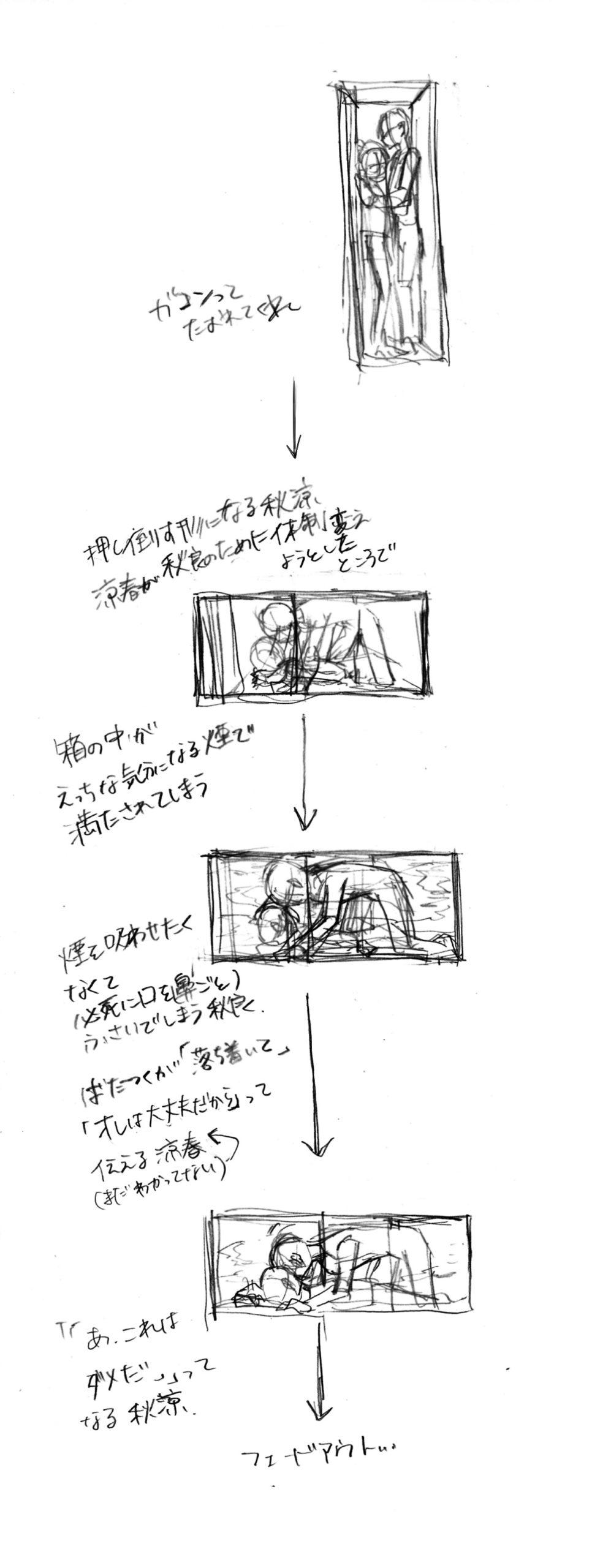 透明な箱に閉じ込められる  秋涼 / 秋ユサ